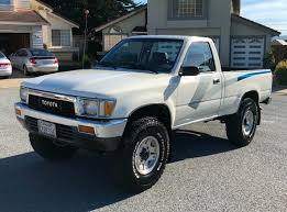 100 Toyota 4 Cylinder Trucks 1989 X Pickup 5Speed For Sale On BaT Auctions Sold For