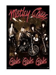 Motleys Pumpkin Patch by Motley Crue Girls Girls Girls Poster Topic