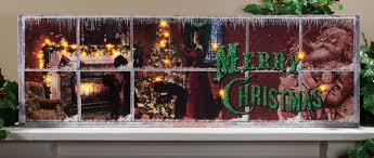Raz Christmas Trees Wholesale by Window Frame Lighted Picture