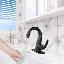 arcora badezimmer armatur schwarz matt