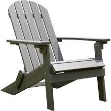 Living Accents Folding Adirondack Chair by Stonegate Designs Composite Maintenance Free Foldable Adirondack