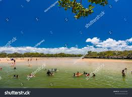 100 Currimundi Beach Caloundra Aus Jan 20 2019 Hot Stock Photo Edit Now 1303720960