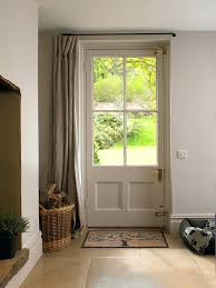 curtain for front door glass over picture inspirations side window