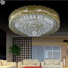 led light modern l living room luxury home decoration