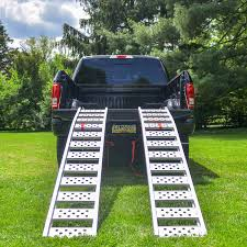 100 Motorcycle Ramps For Pickup Trucks TruGrip Aluminum Arched Ramp 750 Lb ATV Loading