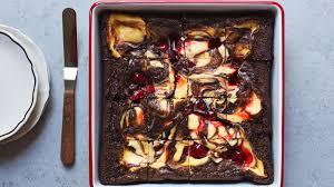 Cherry Cheesecake Swirl Brownies