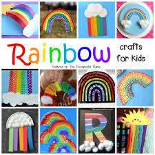 Lots Of Great Rainbow Crafts That Kids Can Make For Spring Summer St