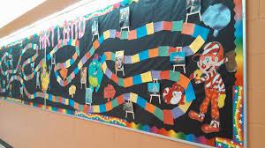 Inside The Art Classroom ART LANDaka CANDYLAND Bulletin Board