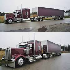 100 Big Daddy Trucking The Day Allinkdub Dropped Her Off Kenworth W9 Kenworthw900