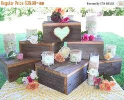 Pick Me Sale Cupcake Stand Cake Wood Rustic