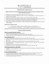Sample Resume For Medical Representative Sales Rep Ideas Of