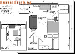 En Suite Floor Plan Changes By Interior Designer