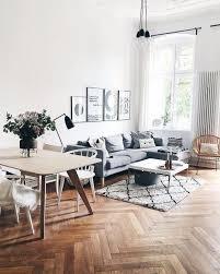 wohnzimmer ziele hohe decken ein schöner parkettboden