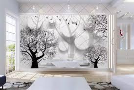 benutzerdefinierte 3 d tapeten europäischen 3d stereo zylindrischen bäume großes wandbild wohnzimmer schlafzimmer tv hintergrund wandbild tapete