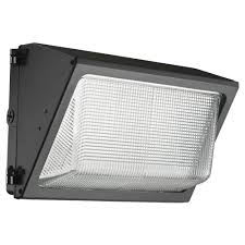 lithonia lighting led small bronze wall pack with glass lens twr1