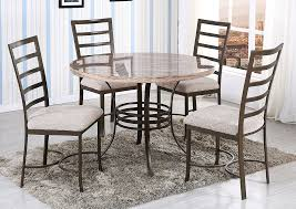 Round Faux Marble Dining TableGlobal Trading