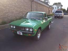 100 Datsun Truck 620 Pickup Time Warp Barn Find