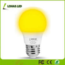 china a15 5w e26 led yellow bug light bulbs not dimmable led bulb