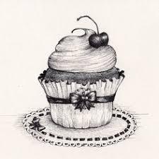 fine art graphite drawing slice of cake Google Search
