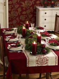 Christmas Tablescape Advent Dining Table Decorations Settings For Dinner