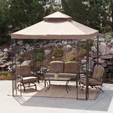 9 Ft Patio Umbrella Target by 9 U0027 X 9 U0027 Gazebo With Mosquito Net Patios Backyard And Outdoor Living