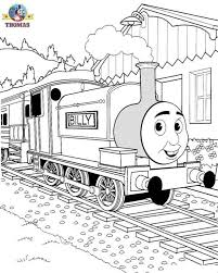 Printable Silly Billy Tank Engine Thomas The Train And Friends Coloring Pages Online Free For Kids