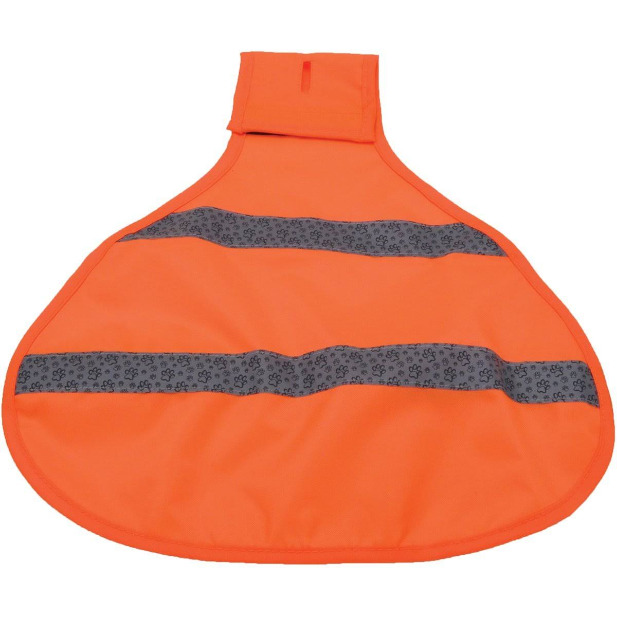 Coastal Pet Reflective Safety Vest - Neon Orange, Small