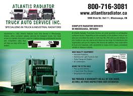 Atlantis Radiator Truck Auto Service Inc. - Truckers Handbook And Saving Freightliner Truck Radiator M2 Business Class Ebay Repair And Inspection Chicago Semitruck Semi China Tank For Benz Atego Nissens 62648 Cheap Peterbilt Find Deals America Aftermarket Dump Buy Brand New Alinum 0810 Cascadia Chevy Gm Pickup Manual 1960 1961 1962 Alinum Radiator High Performance 193941 Ford Truckcar Chevy V8 Fan In The Mud Truck Youtube Radiators Ford Explorer Mazda Bseries Others Oem Amazoncom 2row Fits Ck Truck Suburban Tahoe Yukon