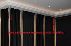 122 remote control electric power traverse curtain rod cl200t3m