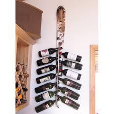 Wayfair Outdoor Wall Decor by Wall Mounted Wine Glass Rack Tristen 5 Bottle Wall Mounted Wine