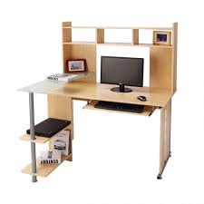 Realspace Magellan Collection Corner Desk Honey Maple by Computer Table South Shore Interface Desk With Storage Walmart