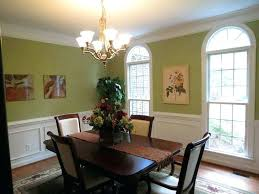 Dining Room Wall Colors Color Ideas With Chair Rail