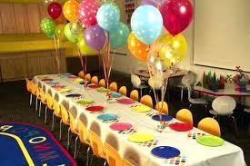 Party Table Decorations Ideas Birthday Beautiful Decoration For A Kids