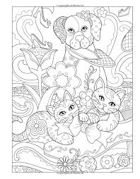 Coloring Books Marjorie Sarnats Pampered Pets New York Times Bestselling Artists Adult