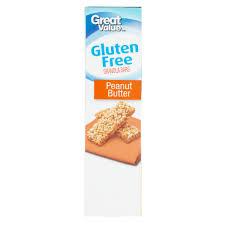 Great Value Gluten Free Peanut Butter Granola Bars 1 oz 5 count