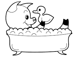 Cartoon Animal Coloring Pages 582x684 Picture