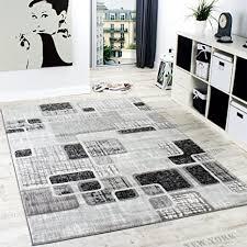 paco home designerteppich wohnzimmer teppich retro stil shabby chic grau creme preishammer grösse 60x100 cm