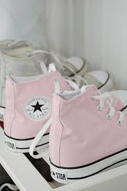LIGHT PINK CONVERSE on The Hunt