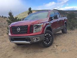 Watch The 2017 Nissan Titan Half-Ton PRO-4X Tackle The Cliffhanger ... 2017 Nissan Titan Vs Xd Review Autoguidecom News Sv Test Drive New For Sale In Savannah Trucks Ga Denver Lease Finance Specials Nashville Tn 2016 Platinum Reserve Cummins Diesel V8 Crew Cab 4x4 2011 Pro4x Lifted Truck Youtube 2013 4wd King Cab Swb Truck Castle 011857a Used 4x4 For 37200 2018 Ratings Edmunds Single Revealed Regular And Make Way The Monstrous Warrior