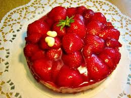 erdbeer torte klein und fein