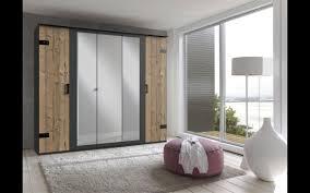 schlafzimmer komplett set 4 tlg stockholm bett 180 kleiderschrank 225 cm 5türig nachtkommoden spiegel grau braun weißtanne