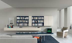 Brilliant Wall Unit In Living Room For