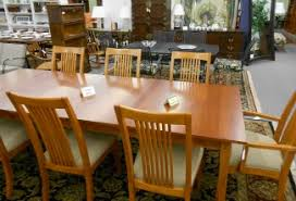 ethan allen mission style table and chairs and more casual dining