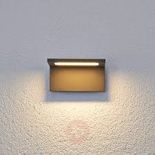 caner flat led outdoor wall light lights ie