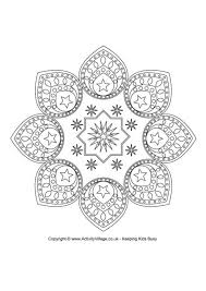 EID DESIGN Colouring Page FREE Download