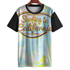 Camiseta Surf California Map Retro Aesthetic Swag Tumblr Mt Carregando Zoom