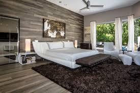 chambre comtemporaine chambre contemporaine avec mur et plancher en bois chambre