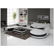 italienischen design moderne u form wohnzimmer echtes leder sofa