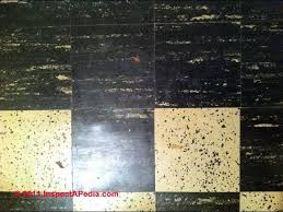 Removing Asbestos Floor Tiles Uk by How To Identify Asbestos Floor Tiles Or Asbestos Containing Sheet