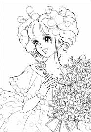 Charming Inspiration Anime Coloring Pages For Adults Only